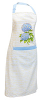 Blue Heirloom Apron
