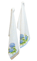 Blue Heirloom Tea Towels