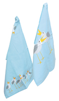 Tea Towel Seagulls S2