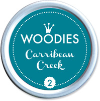 Woodies Ink Pad 2 Carribean Creek