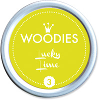 Woodies Ink Pad 3 Lucky Lime