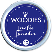 Woodies Ink Pad 10 Lovable Lavender