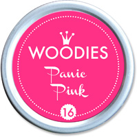 Woodies Ink Pad 16 Panic Pink (neon)