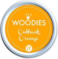 Woodies Ink Pad 17 Outback Orange (neon)