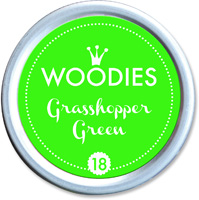 Woodies Ink Pad 18 Grasshopper Green (neon)
