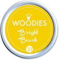 Woodies Ink Pad 21 Bright Beach