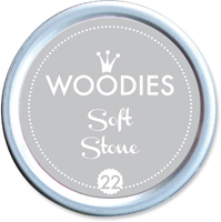Woodies Ink Pad 22 Soft Stone