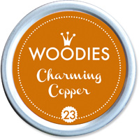Woodies Ink Pad 23 Charming Copper
