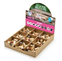 Woodies Baby Mini Stamp Set with Display