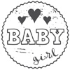 Woodies Baby girl Stamp