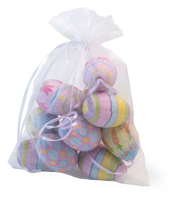 Floral Check Stripe Bagged Eggs