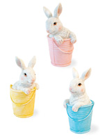 Bunny Buddies in Pails
