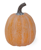 Orange Chalk Tall Pumpkin