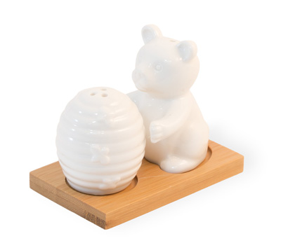Bear & Hive Salt & Pepper Set
