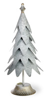 Holiday in the Rockies Galvanized Metal Tree Aspen