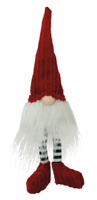 Red & Green Elf Gnome Rudy
