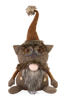 Wes Wise One Owl Hat Gnome