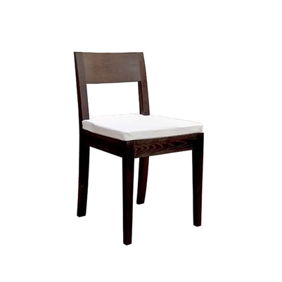 Dark Wood Dining Chair