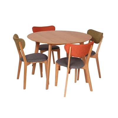 Retro 4-Seat Table Set