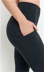 Highwaist Zipper Pocket Leggings