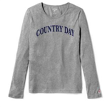 Ladies Grey Long Sleeve Tee