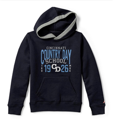 Fall Navy Youth Hoodie