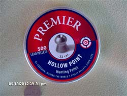 Crosman Premier Hollow Point .22/500 tin