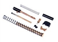 ALPHA TiALCN G19 Super Duty 9mm Slide Completion Kit w/ TiN Guide Rod
