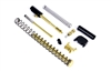 ALPHA TiN G19 Super Duty 9mm Slide Completion Kit w/ TiN Guide Rod