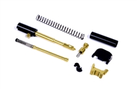 ALPHA TiN Gold Super Duty 9mm Slide Completion Kit