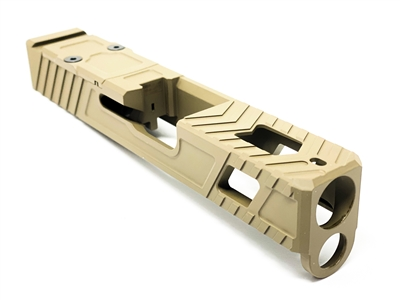 ALPHA Marksman V4 Slide for G26 - FDE
