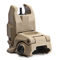 Magpul MBUS Sight  Gen 2 FDE – Rear