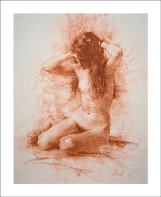 Helga Lithograph By Richard Schmid