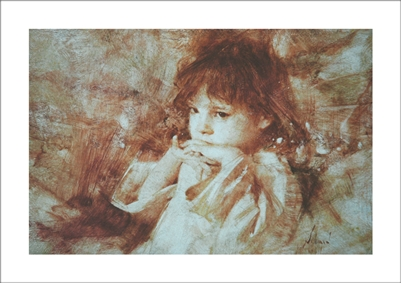 Molly Lithograph By Richard Schmid