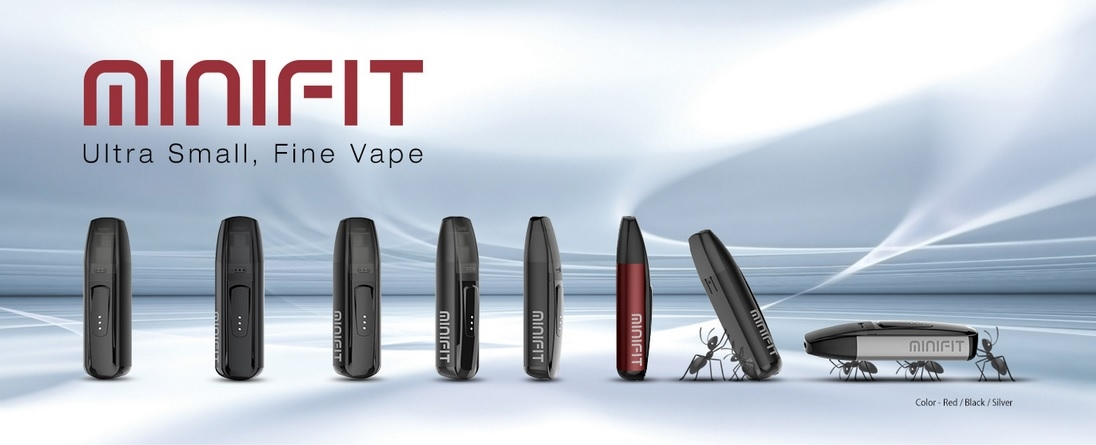 Minifit Pod Kit by Justfog