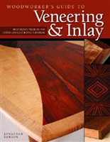 Woodworkers Guide to Veneering & Inlay - Paperback Book