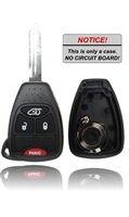 2006 Dodge Magnum key fob replacement