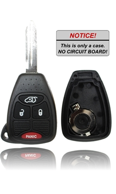 New Key Fob Remote Shell Case For A 2007 Chrysler Sebring W Trunk On