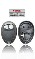 New Key Fob Remote Shell Case For a 2002 Oldsmobile Silhouette w/ 2 Buttons