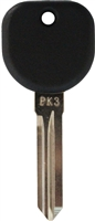 B107 Transponder Key
