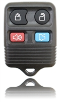 New Key Fob Remote For a 2003 Ford Escort w/ 4 Buttons & Programming