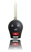 New Keyless Entry Remote Key Fob For a 2010 Nissan Versa w/ 4 Buttons