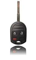 New Key Fob Remote For a 2012 Ford Fiesta w/ 3 Buttons & Security Blade