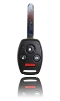 Keyless Entry Remote Key Fob For a 2008 Honda Accord w/ 4 Buttons