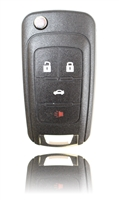 New Keyless Entry Remote Key Fob For a 2014 Chevrolet Cruze w/ 4 Buttons