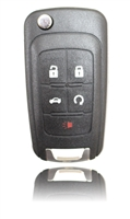 New Keyless Entry Remote Key Fob For a 2012 Chevrolet Cruze w/ 5 Buttons