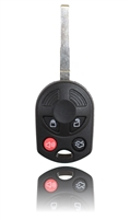 New Keyless Entry Remote Key Fob For a 2014 Ford Focus w/ High Security Blade