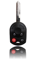 Keyless Entry Remote Key Fob For a 2009 Ford Focus w/ 4 Buttons & Programming