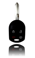 New Keyless Entry Remote Key Fob For a 2008 Lincoln Town Car 4 Buttons w/ Trunk
