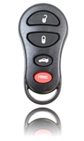 New Key Fob Remote For a 2005 Chrysler Sebring w/ 4 Buttons & Programming